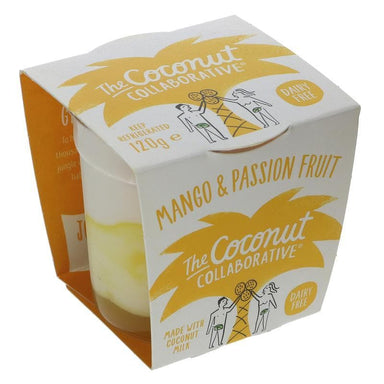 The Coconut Collaborative Mango & Passion Fruit Yoghurt - 120g - SoulBia