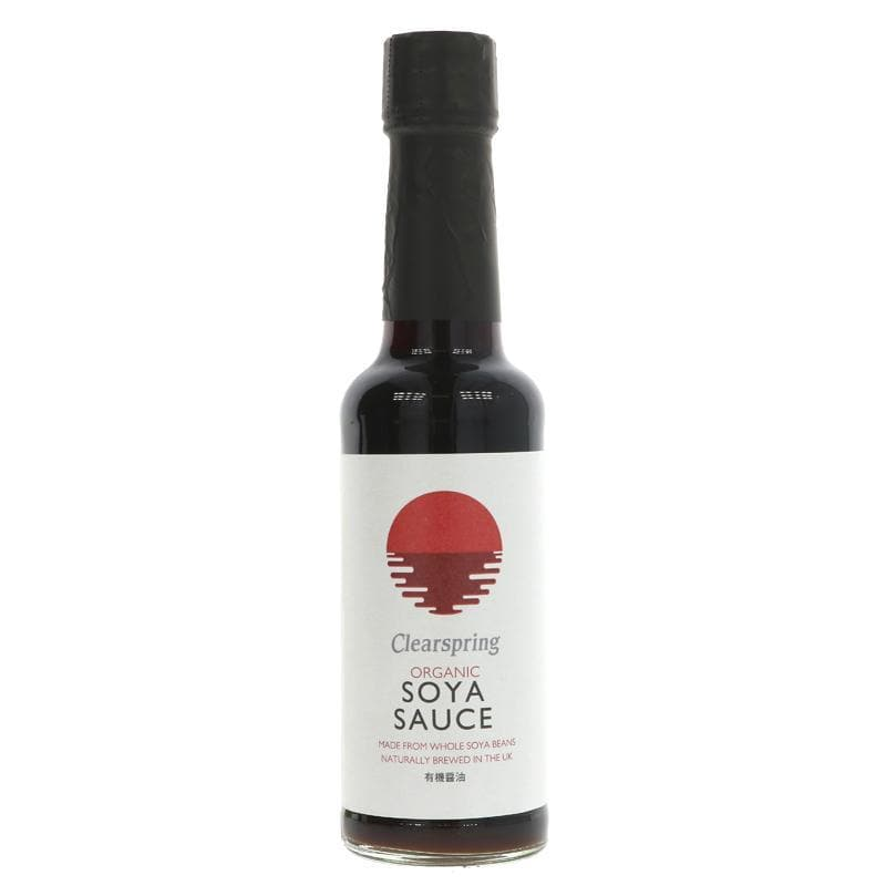 Clearspring Soya Sauce - 150ml - SoulBia