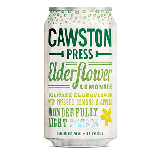 Cawston Press Sparkling Elderflower and Lemon- 330ml - SoulBia