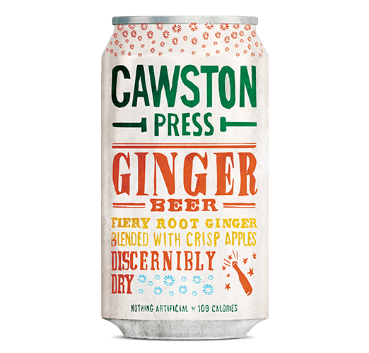 Cawston Press Sparkling Ginger Beer- 330ml - SoulBia