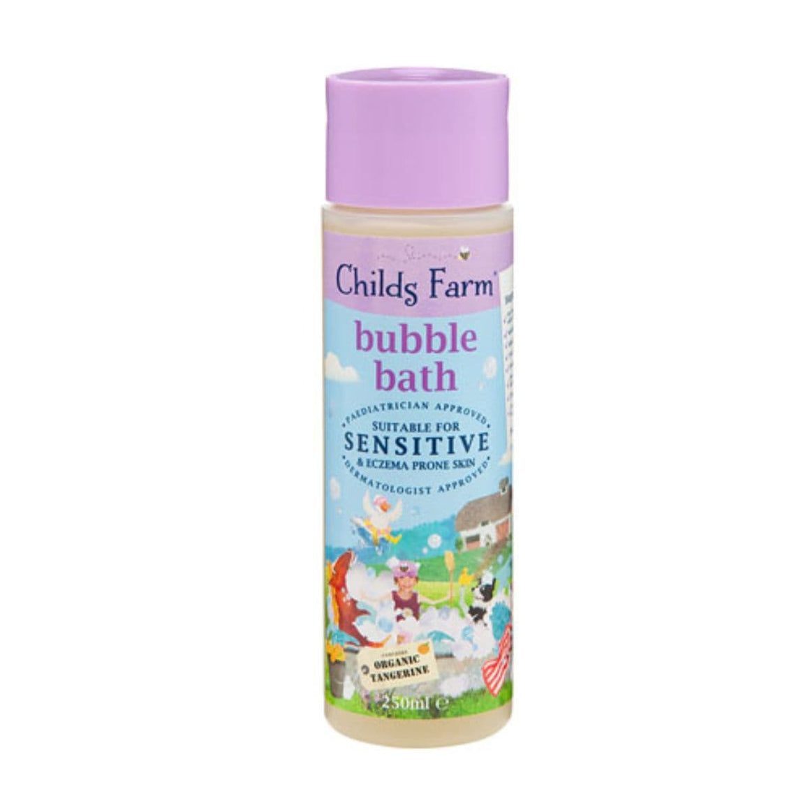 Childs Farm Organic Tangerine Bubble Bath 250ml - SoulBia