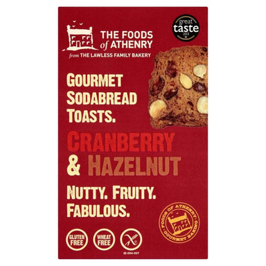 The Foods of Athenry Cranberry & Hazel Nut Soda Bread Toast - SoulBia