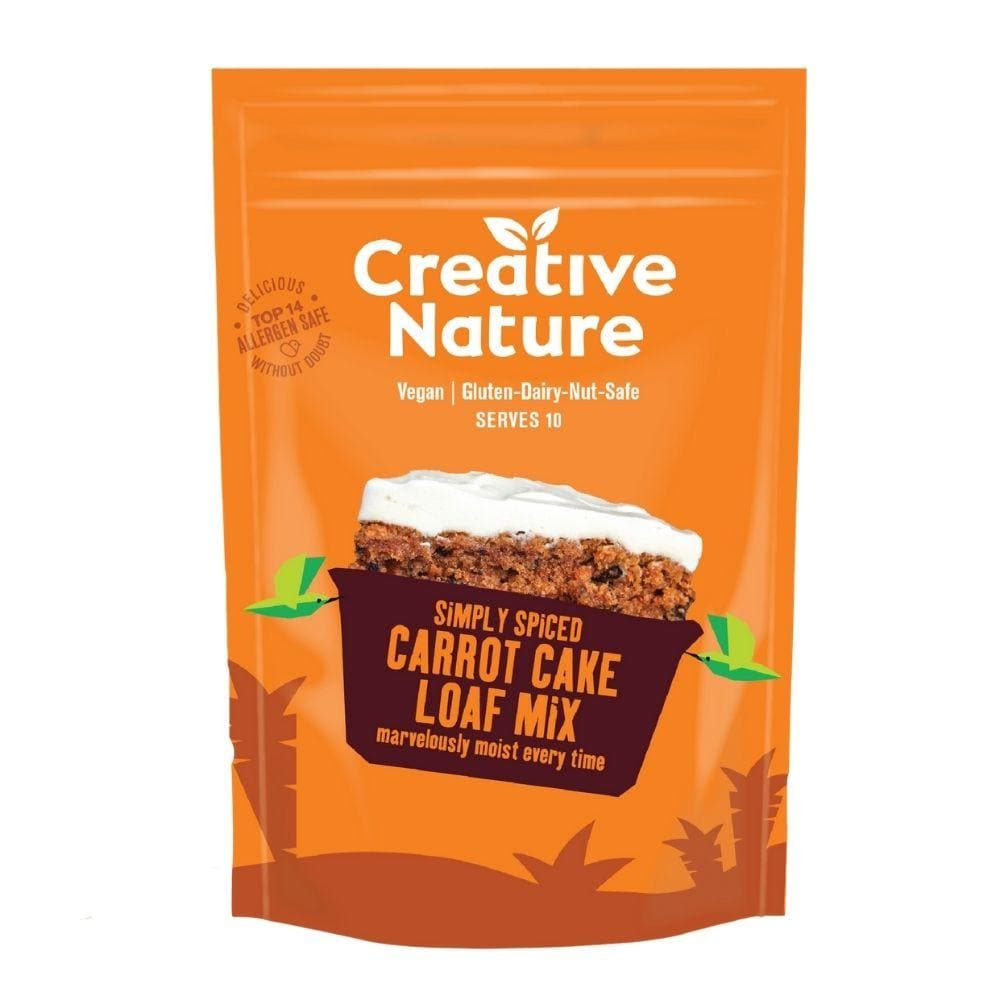 Creative Nature Simply Spiced Carrot Cake Loaf Mix 250g