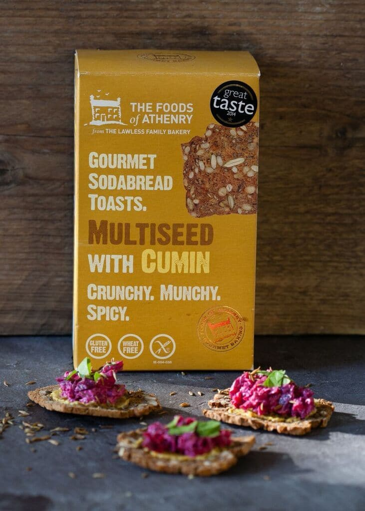 The Foods of Athenry Multi-seed with Cumin Soda Bread Toast - SoulBia