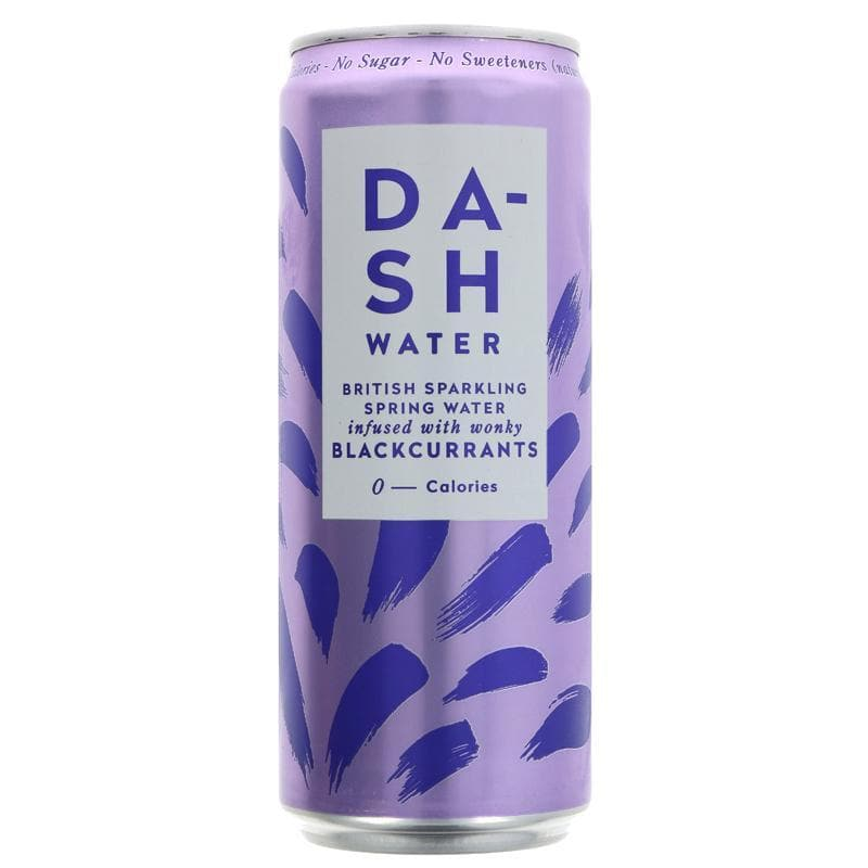 Dash Sparkling Blackcurrant Water - 330ml - SoulBia