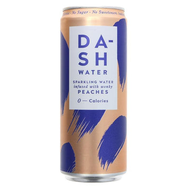 Dash Sparkling Peach Water - 330ml - SoulBia