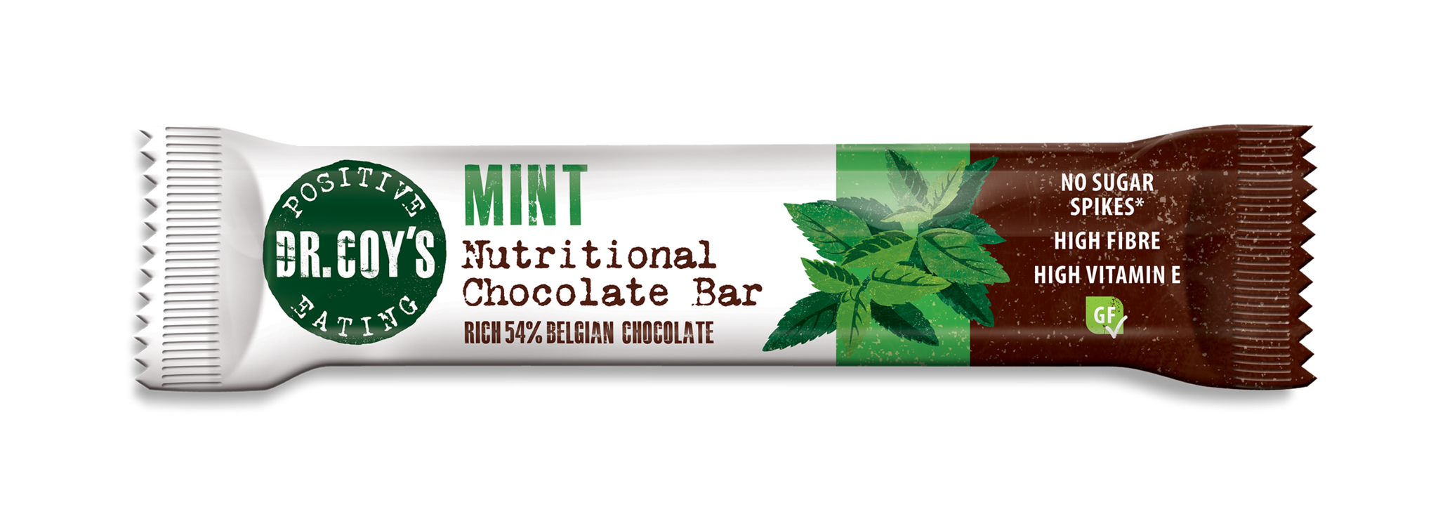 Dr Coy's Nutritional Chocolate Bar Mint 35g - SoulBia