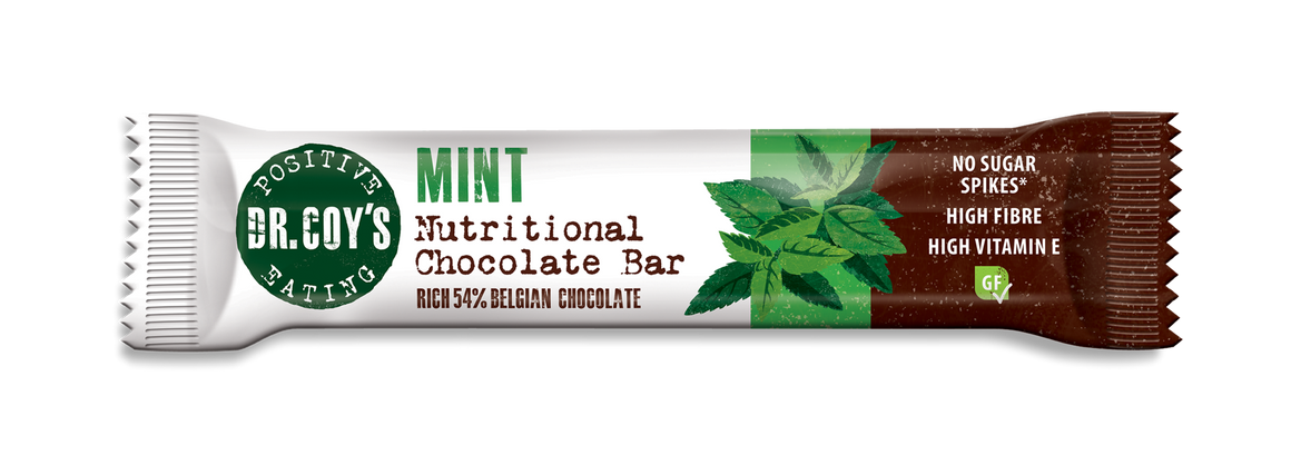 Dr Coy's Nutritional Chocolate Bar Mint 35g