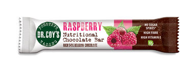 Dr Coy's Nutritional Chocolate Bar Raspberry 35g - SoulBia
