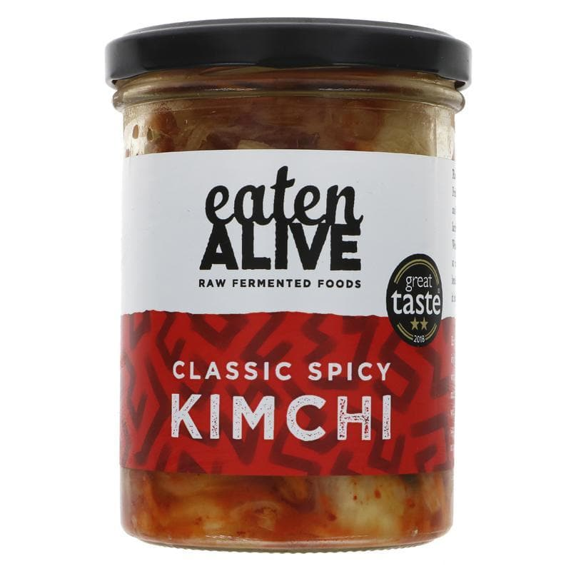 Eaten Alive Classic Spicy Kimchi - 375g - SoulBia
