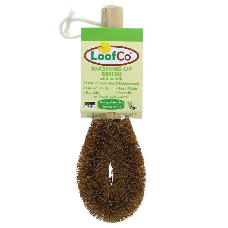 Loofco Washing-Up Brush with Handle - SoulBia