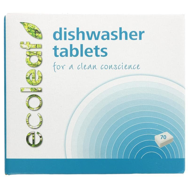 Ecoleaf Dishwasher Tablets - 70 tablets - SoulBia