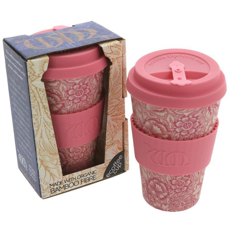 Ecoffee Coffee Cup Poppy Design - 400ml - SoulBia