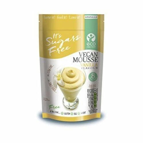 Eco Free From Vegan Vanilla Mousse, Sugar Free, Vegan - 135g - SoulBia
