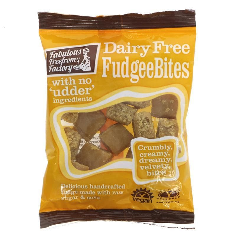 Fabulous Free From Factory Dairy Free Fudgee Bites - 75g - SoulBia