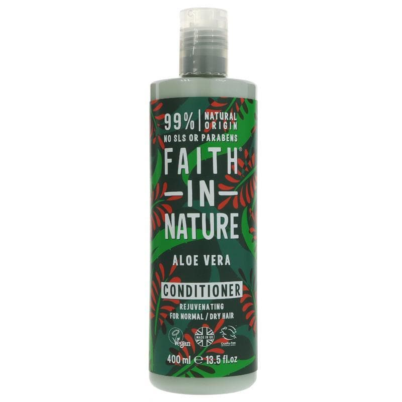 Faith In Nature Aloe Vera Conditioner -400ml - SoulBia
