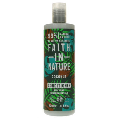 Faith In Nature Coconut Conditioner - 400ml - SoulBia
