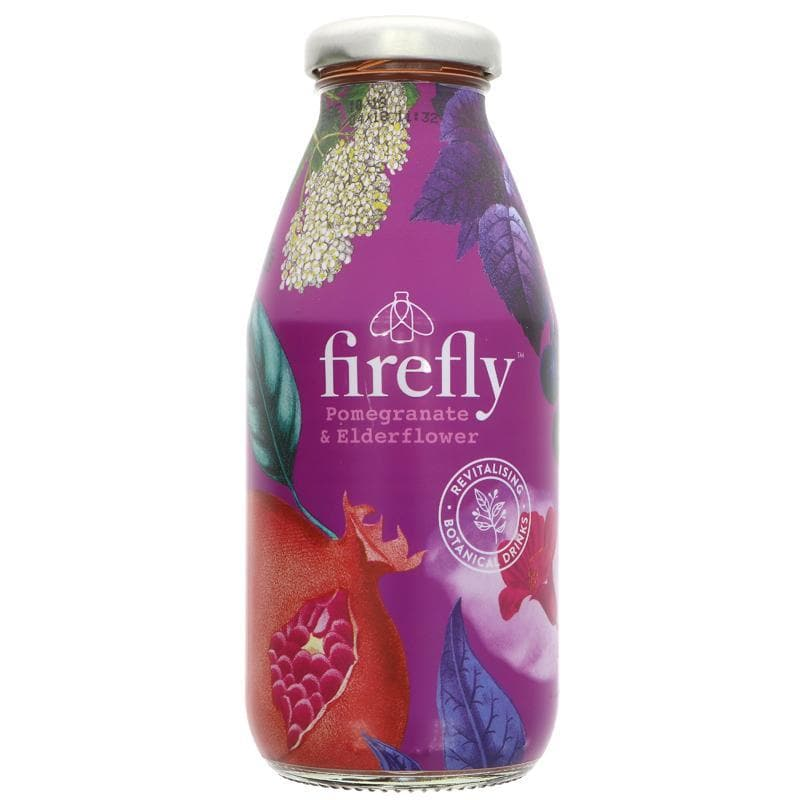 Firefly Natural Drinks Pomegranate & Elderflower - 330ml - SoulBia