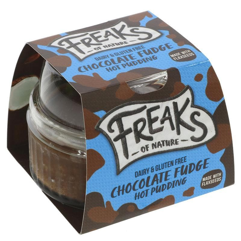 Freaks Of Nature Chocolate Fudge Hot Pudding - 100g - SoulBia