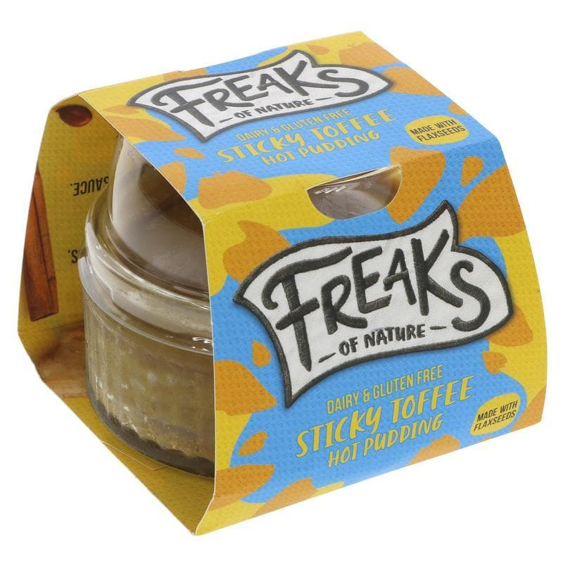 Freaks Of Nature Hot Sticky Toffee Pudding - 100g - SoulBia