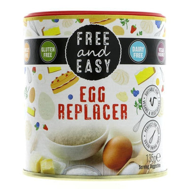 Free & Easy Egg Replacer - 135g - SoulBia