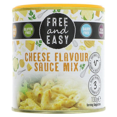 Free & Easy Cheese Flavour Sauce Mix - 130g - SoulBia