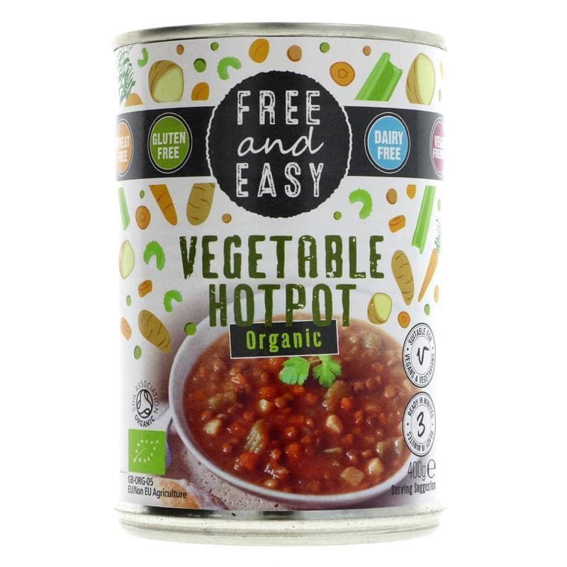 Free & Easy Vegetable Hotpot - organic - 400g - SoulBia