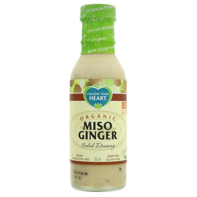 Follow Your Heart Miso Ginger Salad Dressing -355ml - SoulBia
