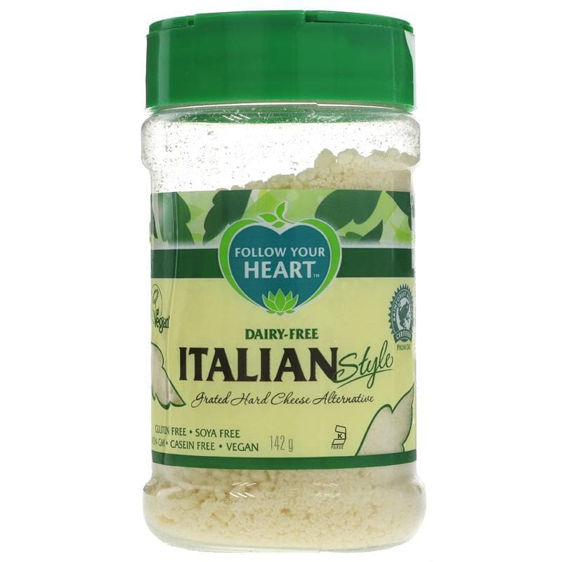 Follow Your Heart Parmesan - Grated - 142g - SoulBia