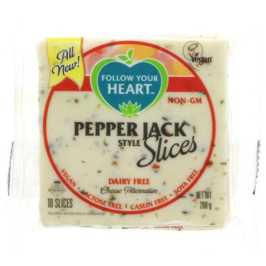 Follow Your Heart Vegan Pepper Jack Slices -200g - SoulBia