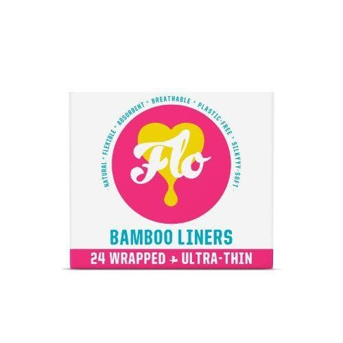 FLO Natural Bamboo Wrapped Daily Liners 24s - SoulBia