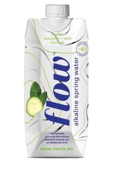 Flow Organic Cucumber & Mint Water - SoulBia