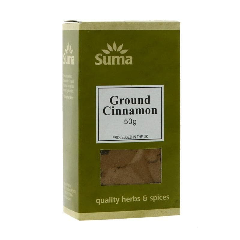 Suma Ground Cinnamon - 50g - SoulBia