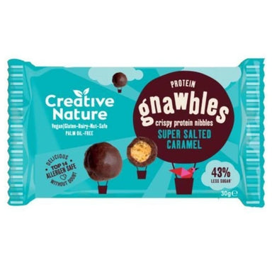 Creative Nature Salted Caramel Protein Gnawbles - 30g - SoulBia
