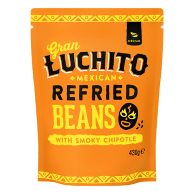 Gran Luchito Chipotle Refried Beans - 430g - SoulBia