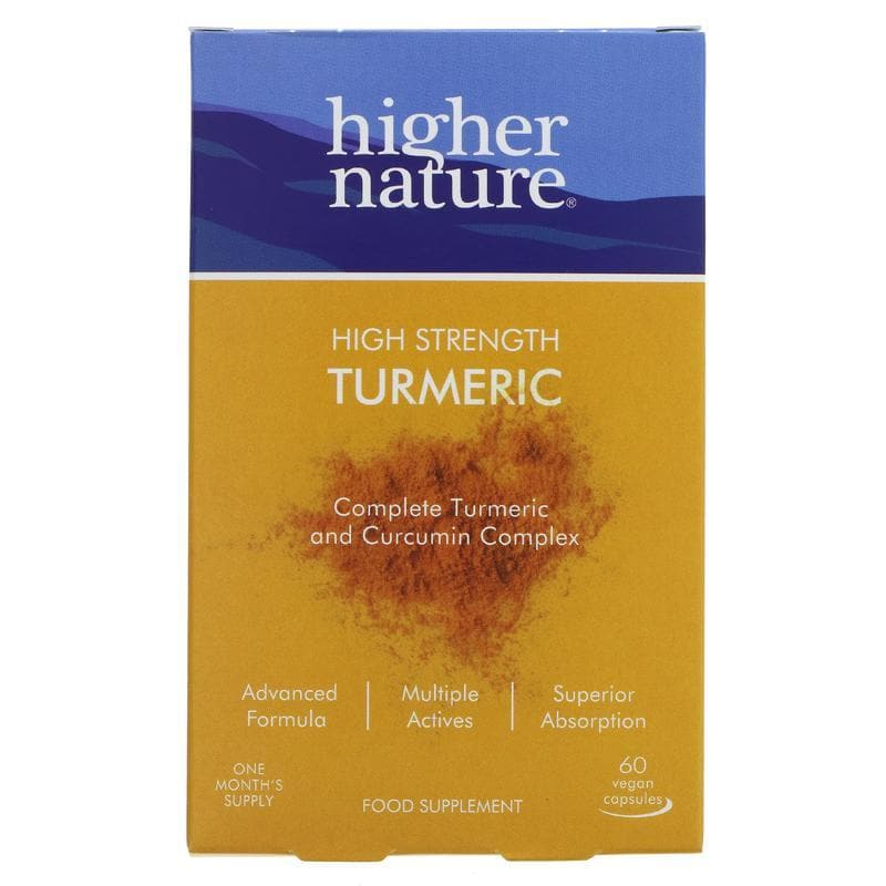 Higher Nature Turmeric Capsules - SoulBia