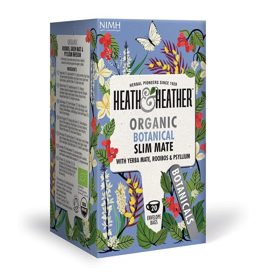 Heath & Heather Organic Botanical Slim Mate 20 Bag - SoulBia