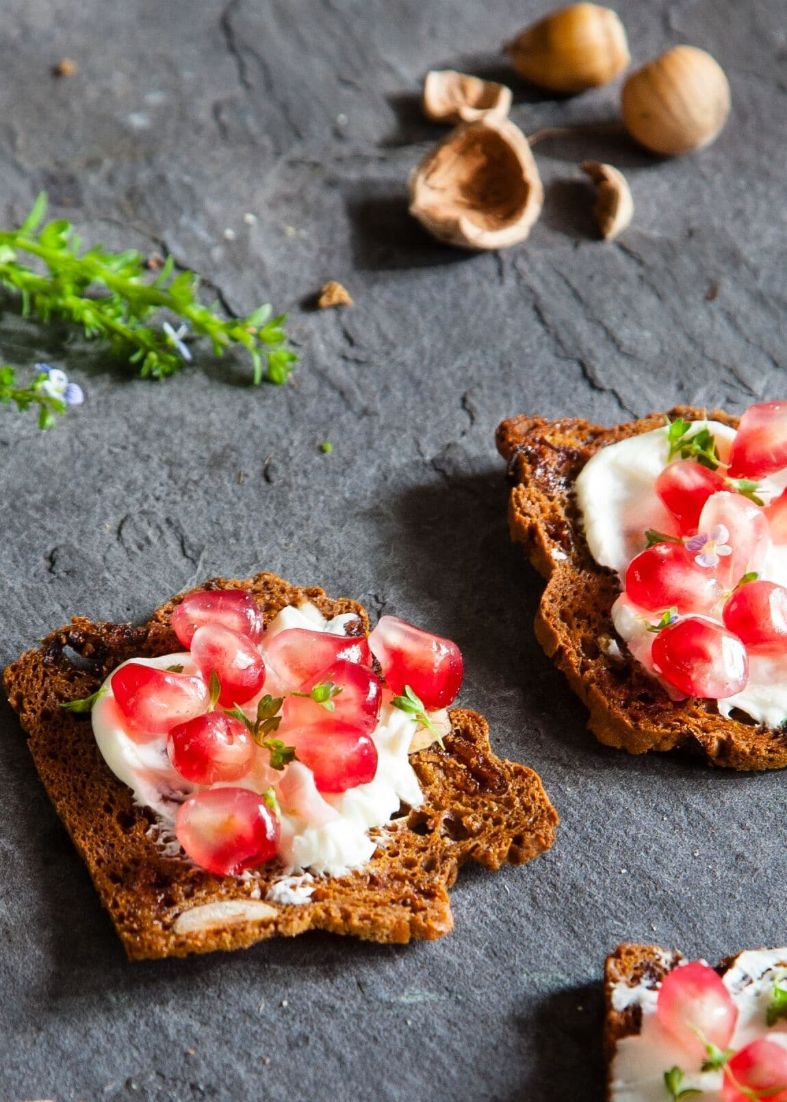 Cranberry & Hazel Nut Soda Bread Toast by The Foods of Athenry - SoulBia