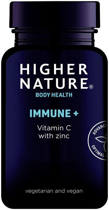 Higher Nature Immune + Vitamin C - 90 tablets - SoulBia