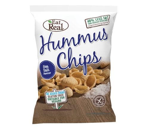 Eat Real Hummus Chips Sea Salt - 135g - SoulBia