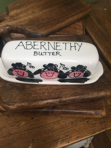 Abernethy Butter Dish - Cow - SoulBia