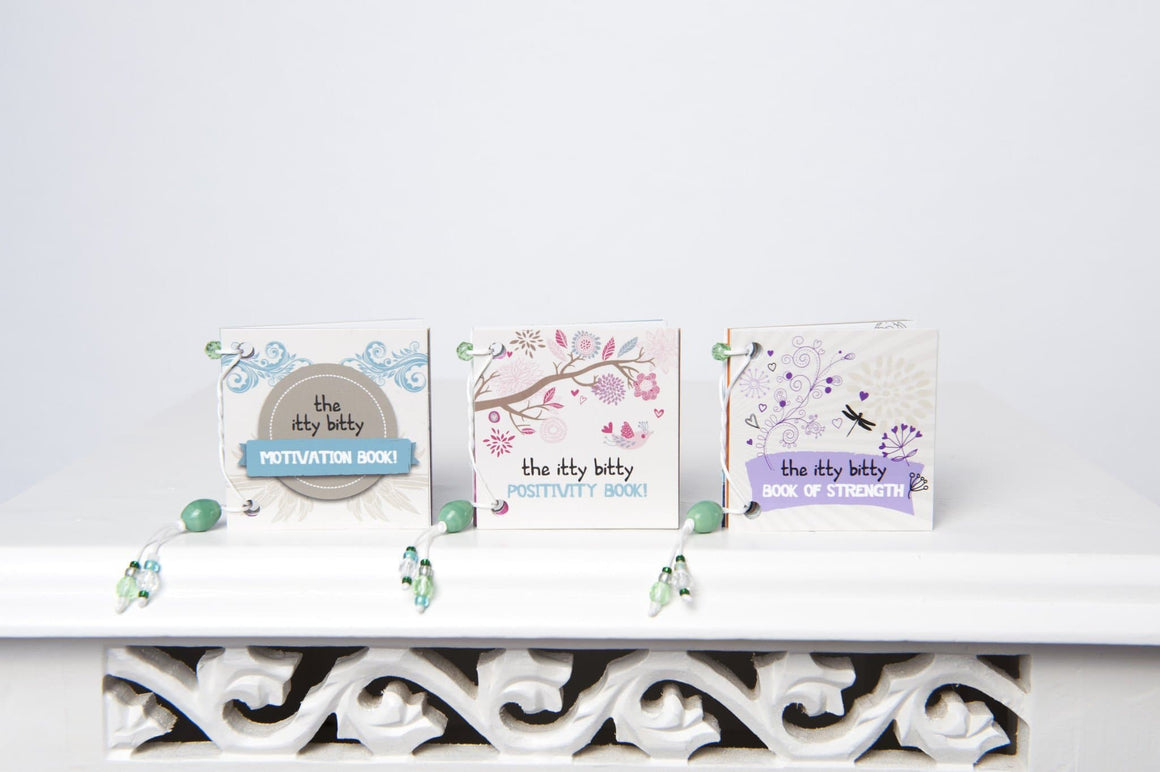 Inspiration box - Gift Set of Three Itty Bitty Books