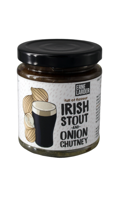 Erne Larder Irish Stout and Onion Chutney - 227g - SoulBia