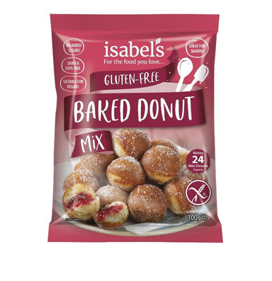 Isabels Naturally Free From Baked Donut Mix Gluten Free