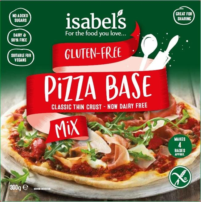 Isabels Naturally Free From Gluten & Wheat Free Pizza Mix