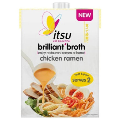 Itsu Chicken Ramen Brilliant Broth - 500ml - SoulBia