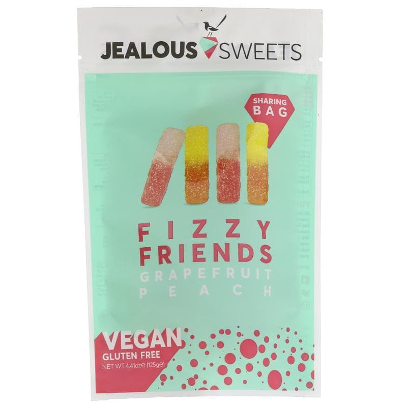 Jealous Sweets Fizzy Friends Share Bags - 125g - SoulBia