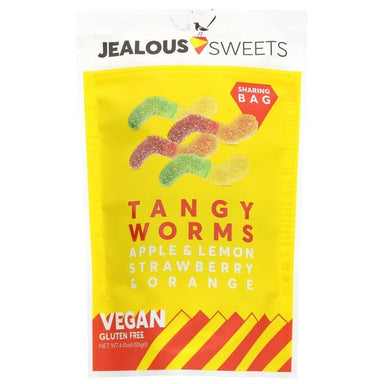 Jealous Sweets Tangy Worms Share Bags - 125g - SoulBia
