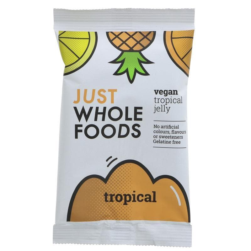 Just Wholefoods Vegan Jelly Tropical - 85g - SoulBia