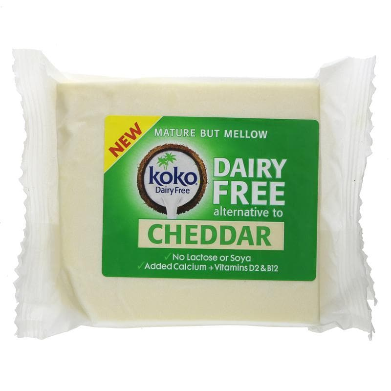 Koko Dairy Free Cheddar Cheese Alternative - 200g - SoulBia